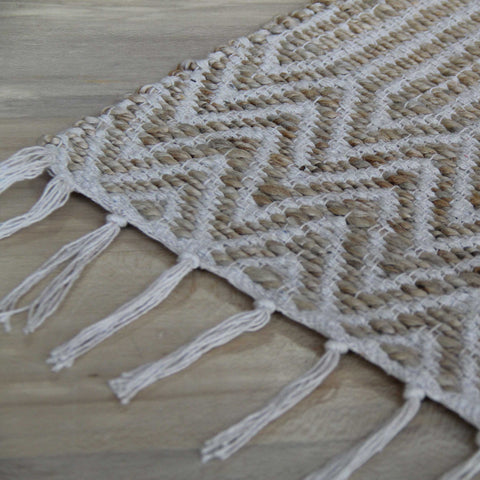 Natural Bathmat White