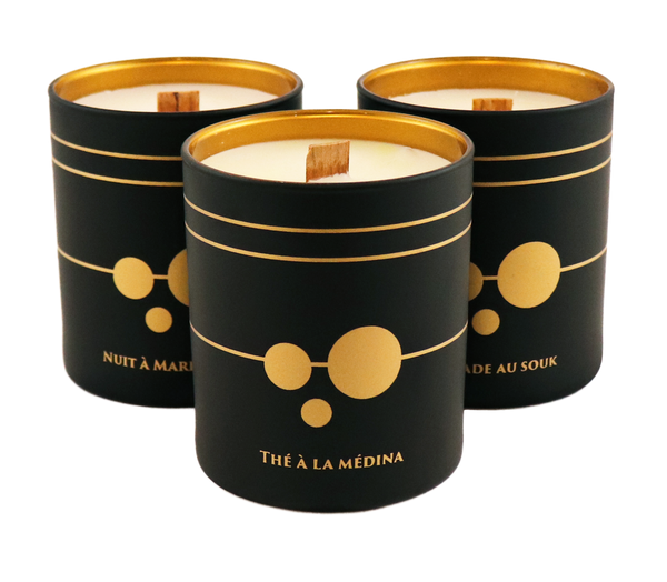 Cote Bougie Black Edition Candle