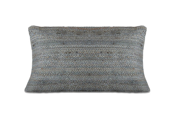 Tantan Jute Pillow Mercury