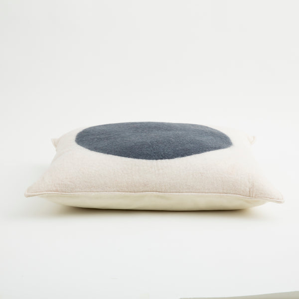 Ruby Floor Pillow Stormy Grey