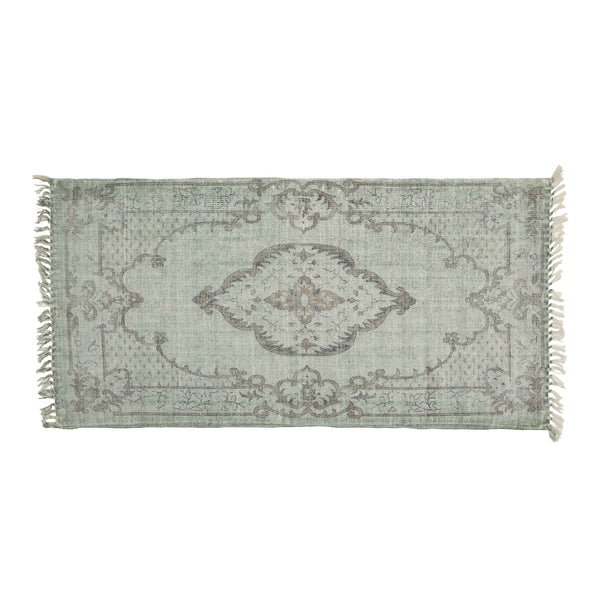 Medallion Bathmat in Green