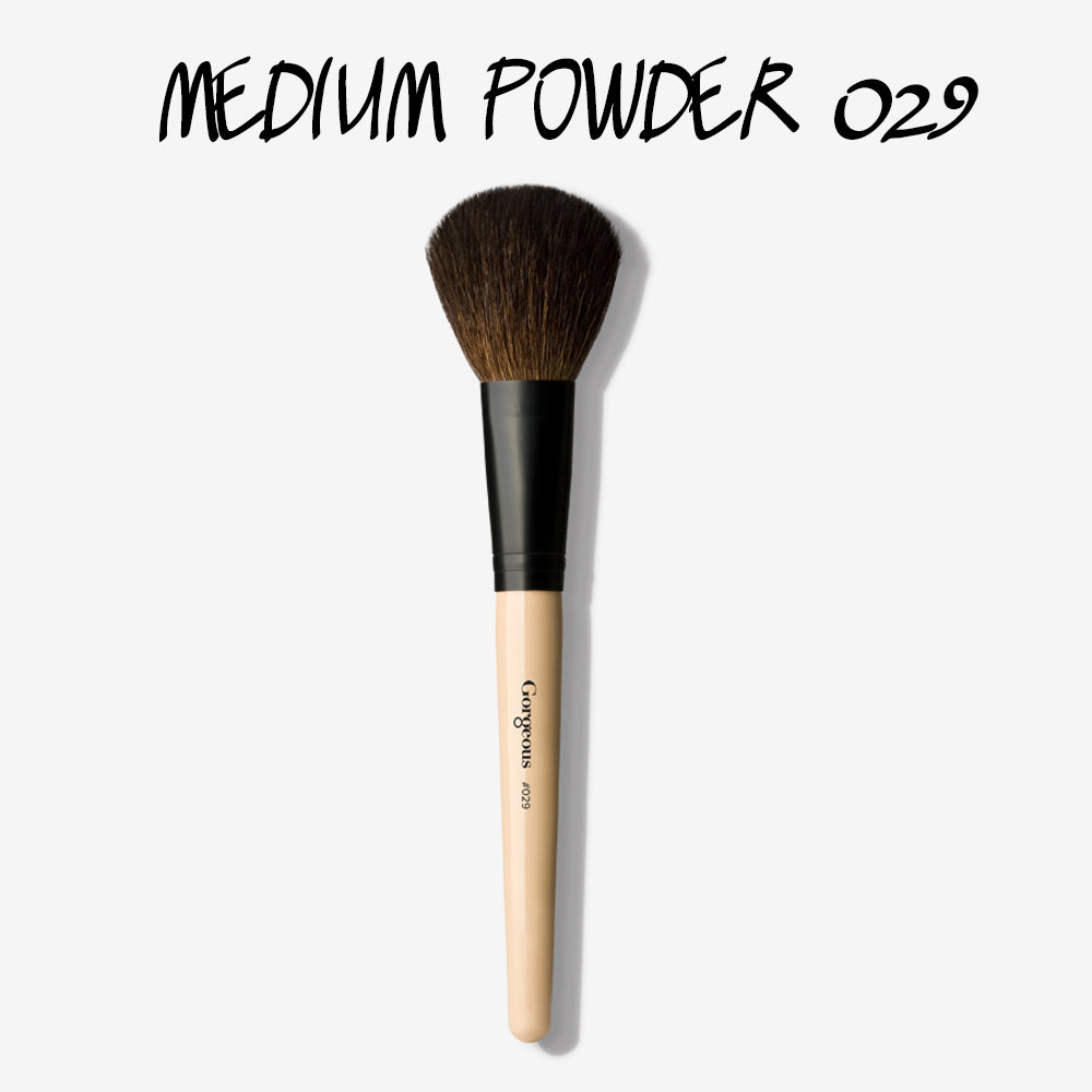 BRUSH 029 - MEDIUM POWDER