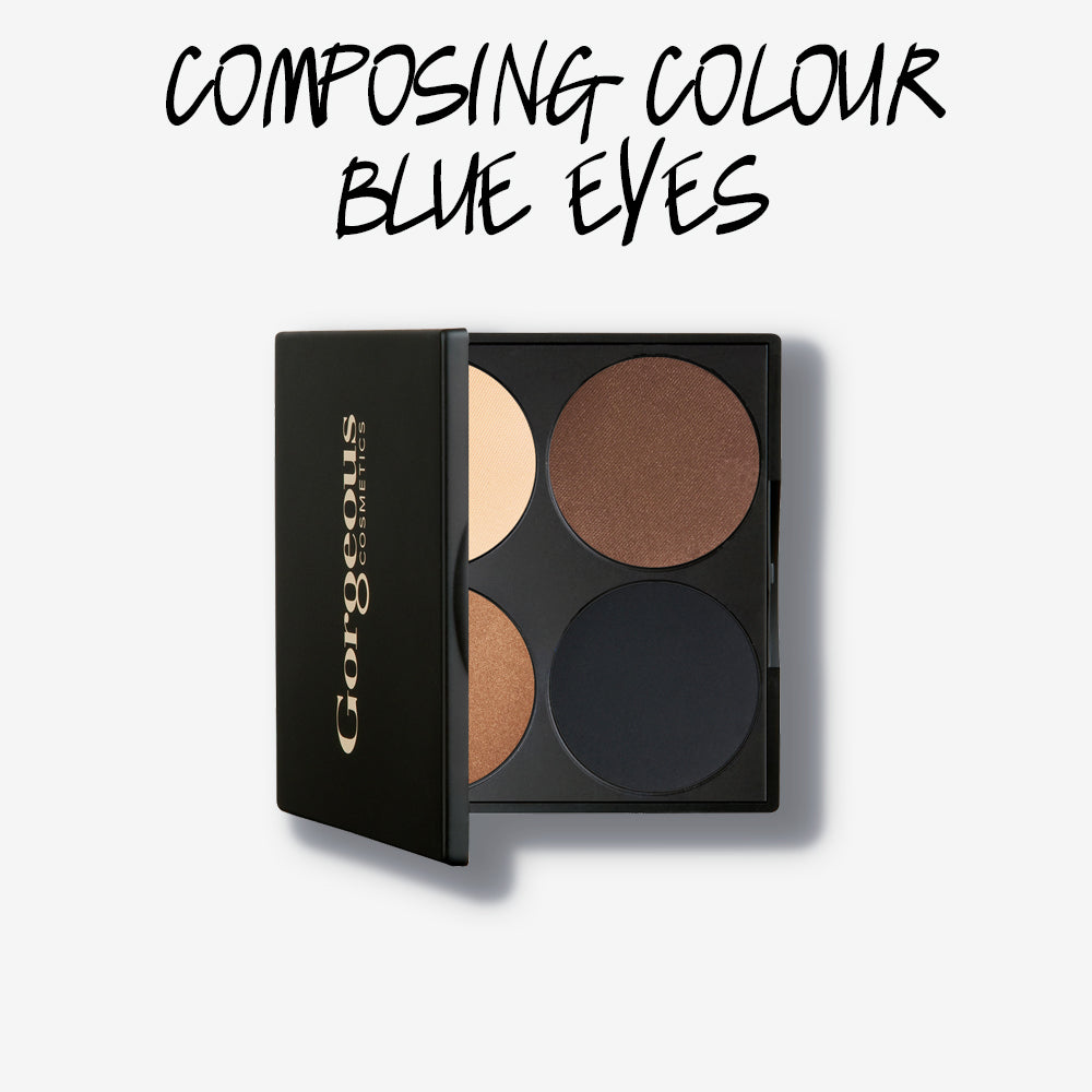 COMPOSING COLOUR BLUE EYES PALETTE