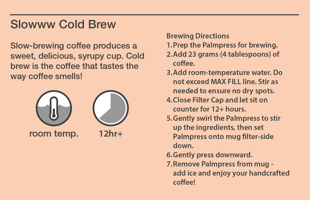 Palmpress Cold Brew Recipe