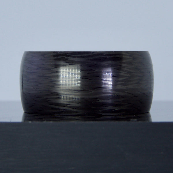 Barrel Top Cut Carbon Fiber Ring