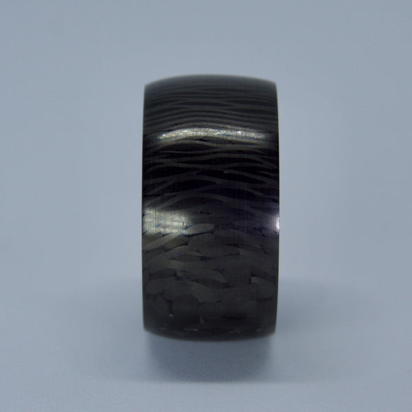 Barrel Blackwood Carbon Fiber Ring