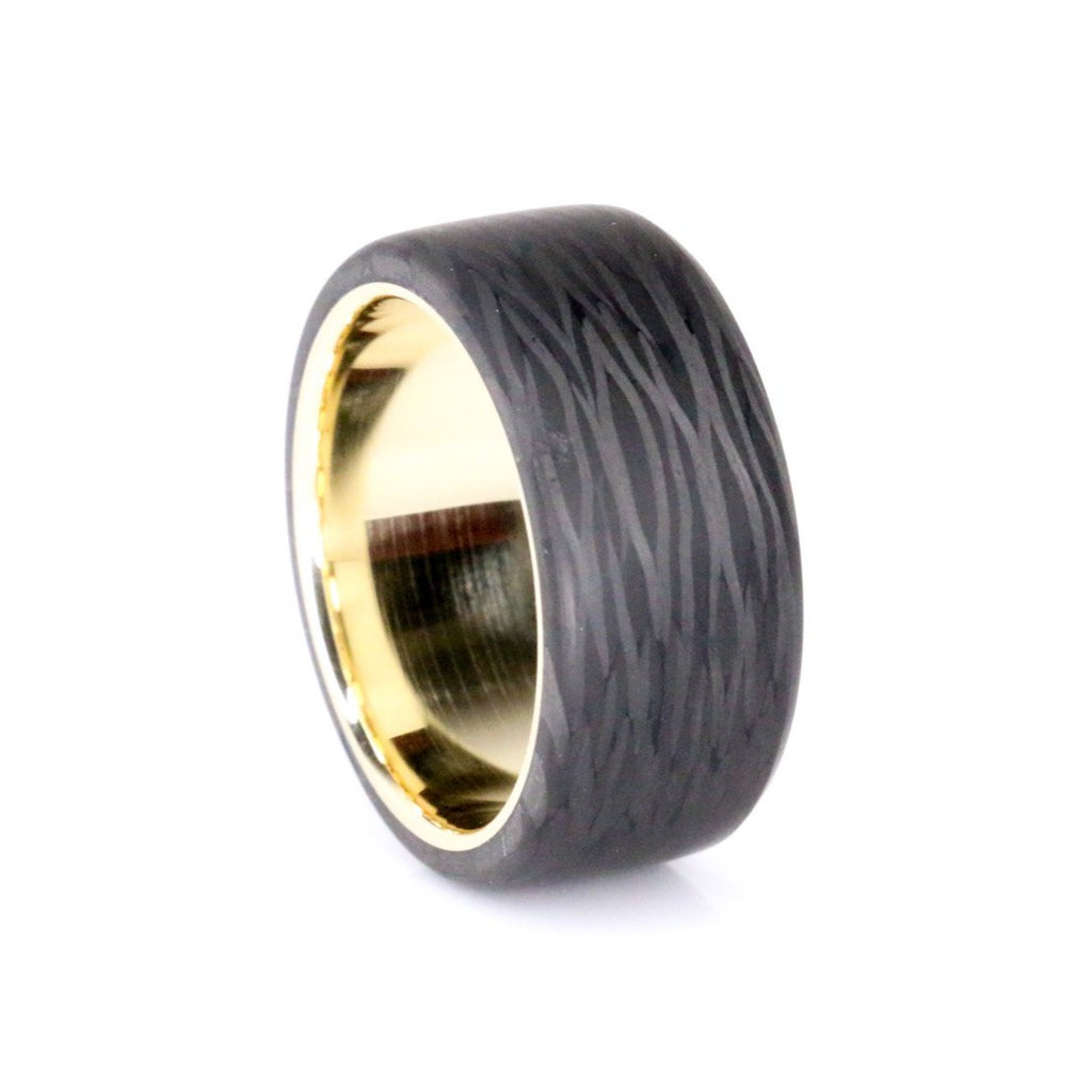 Premium Top Cut Carbon With Gold Liner