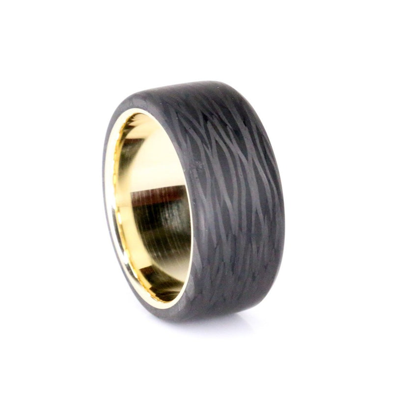 Size 12 Premium Top Cut Carbon With Gold Liner