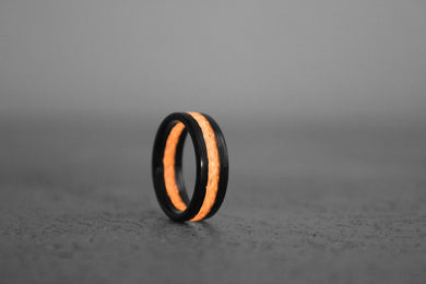 Coral Apollo Carbon Fiber Ring