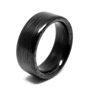 Solid carbon fiber ring made carbonfi