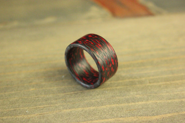 Fire Alien Carbon Fiber Ring