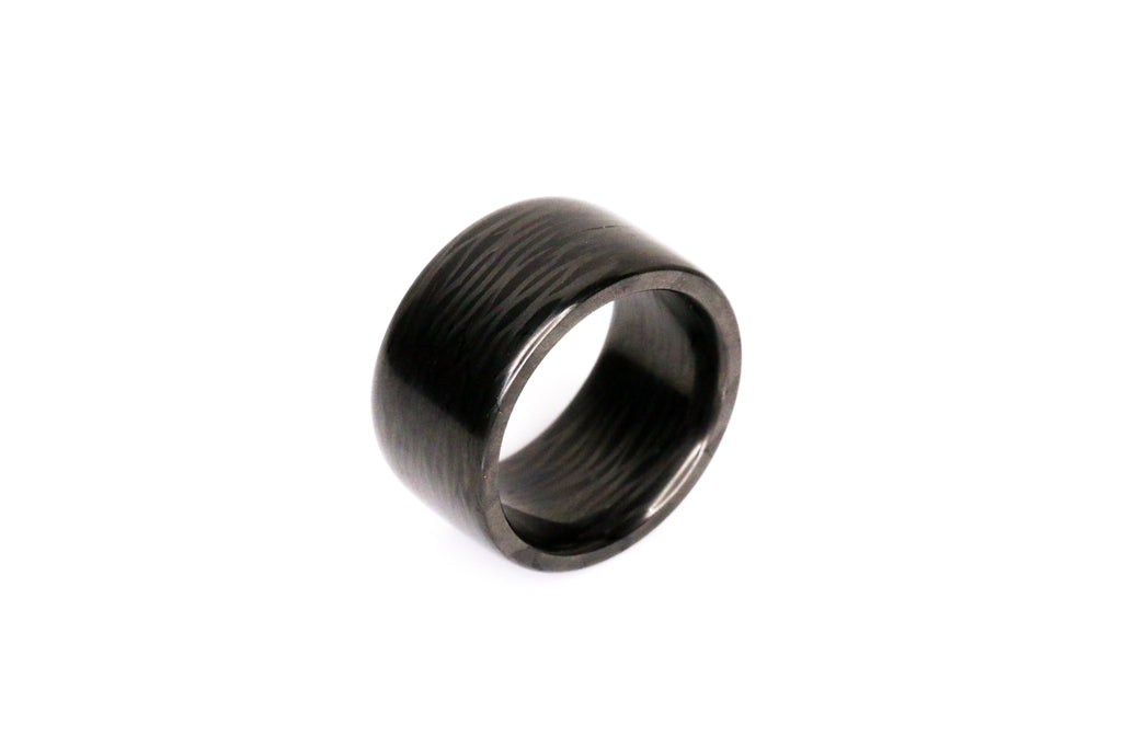 Pre-Owned Premium Top Cut Carbon Ring Size 11.25