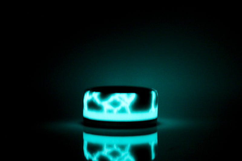 Titanium and Lightning Glow Limited Edition Band