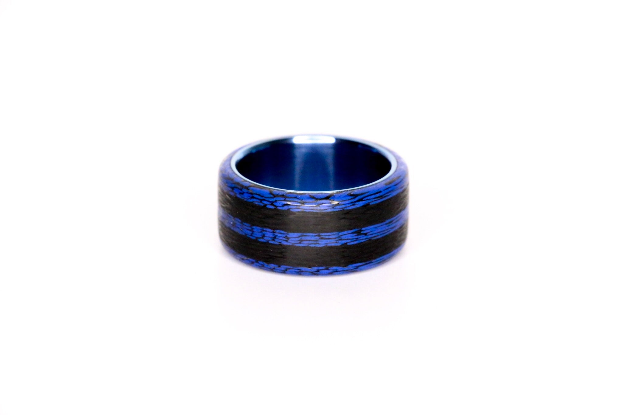 Royal Blue Tri Hybrid with Anodized Ti