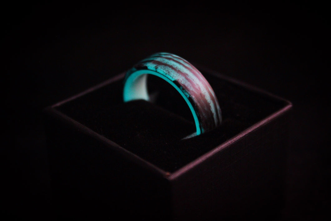 Carbon Fiber Glow ring made and designed by Carbonfi