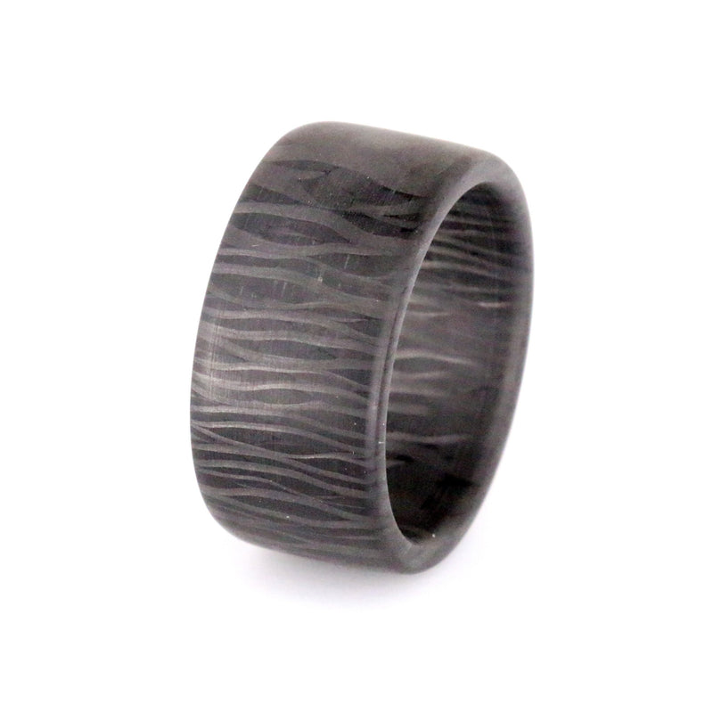 Premium Blackwood Carbon Fiber Band