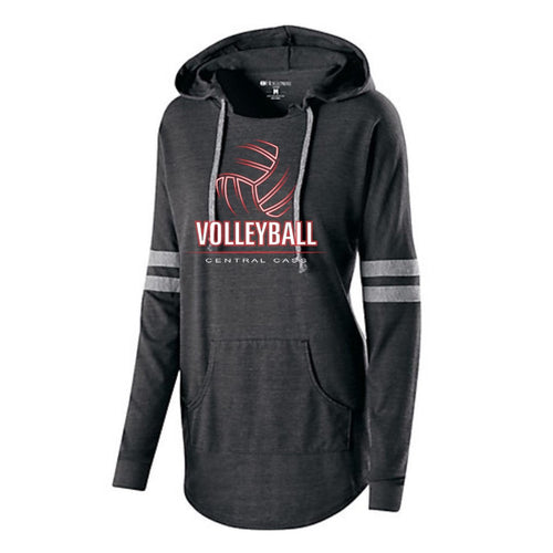 Volleyball Ladies Hooded Pullover
