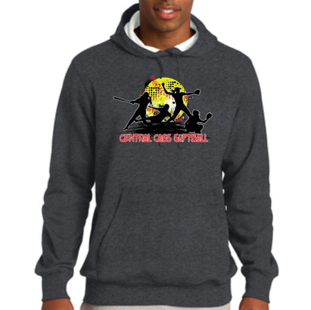 Central Cass Pullover Hooded Sweatshirt - Youth & Adult