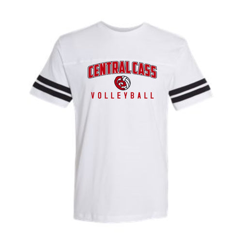 Volleyball Fine Jersey Tee (Adult, Ladies, & Youth)