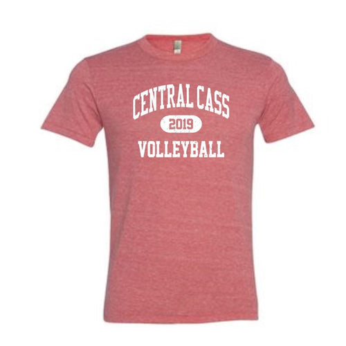 Volleyball Eco-Jersey Crew T-Shirt