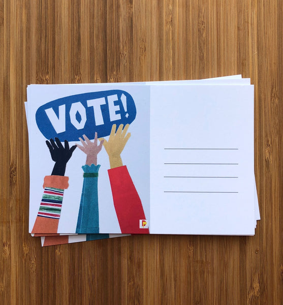 Postcards to Voters (Blank Back)