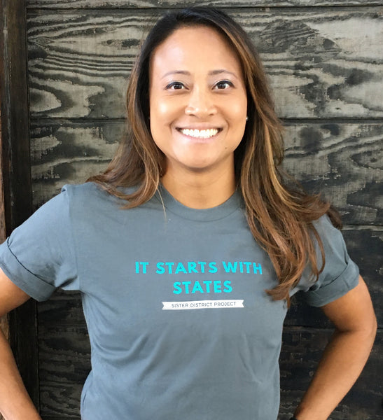 """It Starts With States"" Short Sleeve T-Shirt"