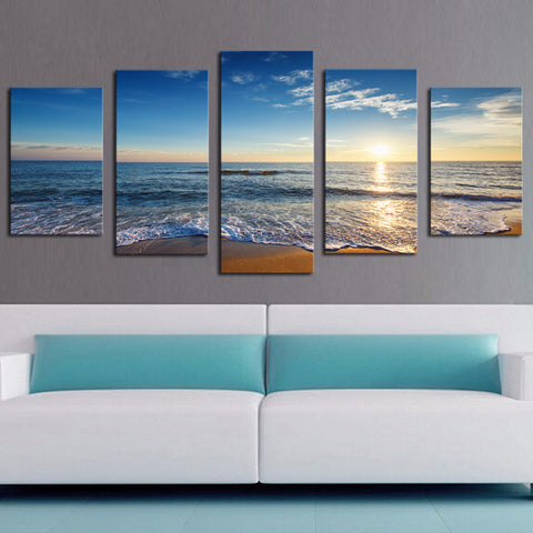 BEACH SUNRISE - The Wall Art Gallery