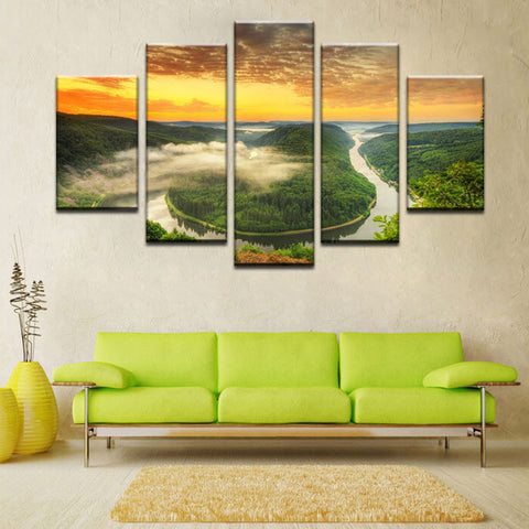 JUNGLE RIVER - The Wall Art Gallery