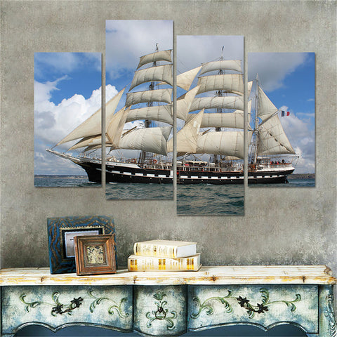 SAILING BOAT PAINTING - The Wall Art Gallery