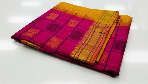 KSC - Mittai Pink with Mango yellow