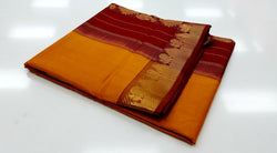 TSH100 - Kesar Orange with Maroon