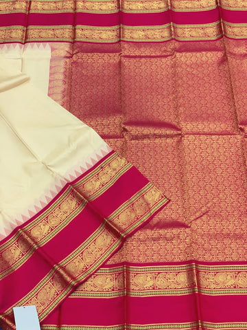 KHEE - Half White/Kumkum Red