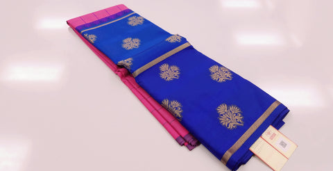 KSS - Lotus Pink with Dual Blue border