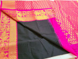 KSS - Black with Pink Korvai