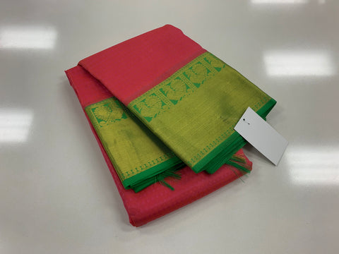 KHEE - French Rose with Parrot Green