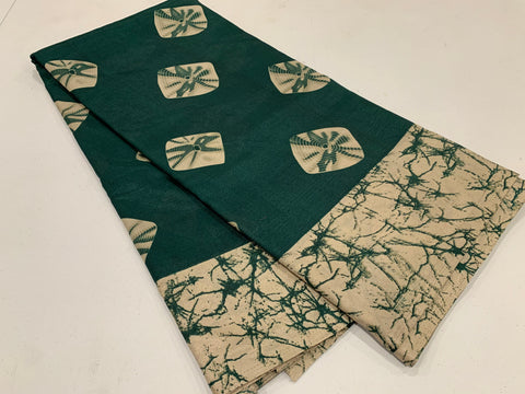MB - Bottle Green Batik