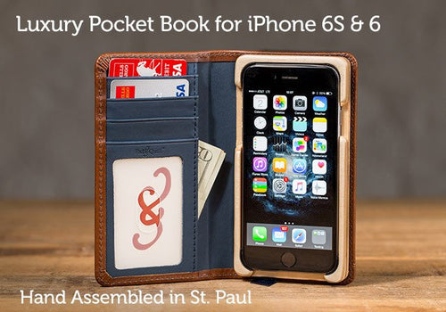 IPhone 6 Case - Luxury Pocket Book IPhone 6 Case