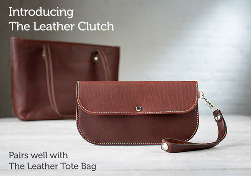 Leather Wallet - The Leather Clutch For IPhone