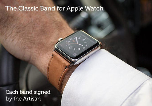 Apple Watch Band - Classic Leather Band For Apple Watch Series 1 & Series 2