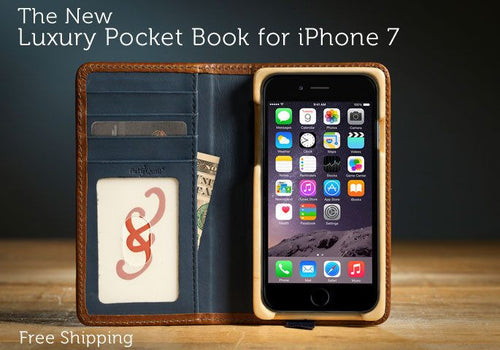 IPhone 7 Case - Luxury Pocket Book IPhone 7 Case