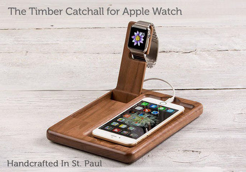 Apple Watch Accessory - The Timber Catchall Stand For Apple Watch Series 1 & Series 2