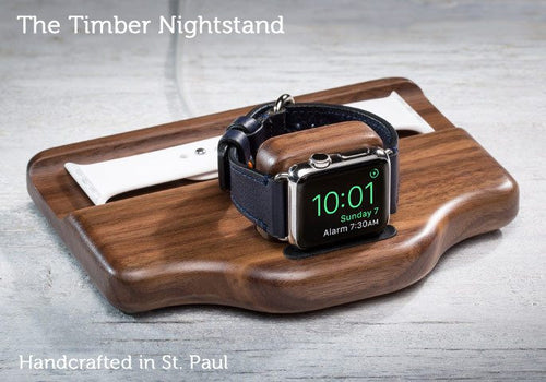 Apple Watch Accessory - The Timber Nightstand For Apple Watch Series 1 & Series 2 - Discontinued