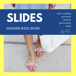 SLIDES: Our Summer Shoe Crush