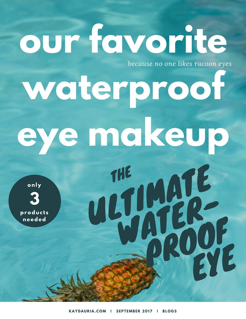 the ultimate waterproof eye