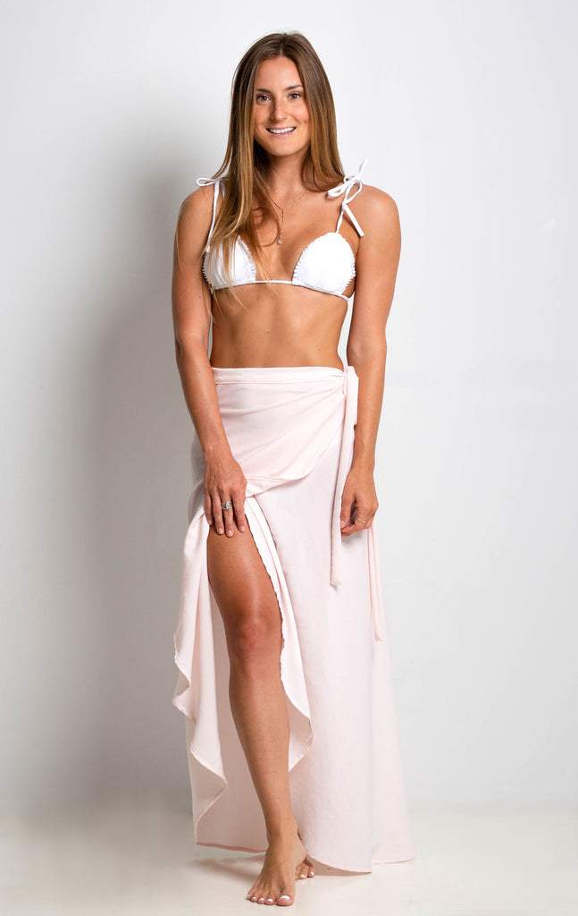 That's A Wrap Maxi Skirt | Rosewater