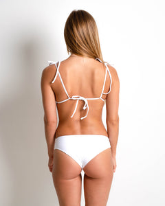 Cinched Bottoms | White