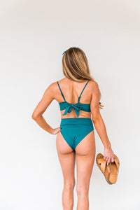 Upper Deck Bikini Bottoms | Shaded Spruce