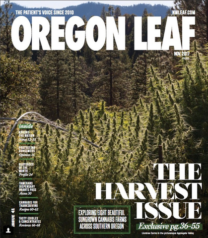Oregon Leaf Harvest Issue