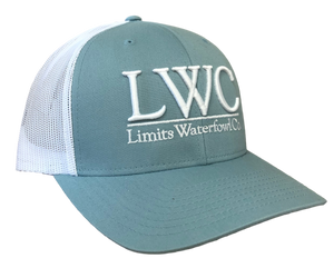 3D LWC Logo Hat(Multiple Color Options)-hat-Limits Waterfowl Co.-Smoke Blue-Limits Waterfowl Co.