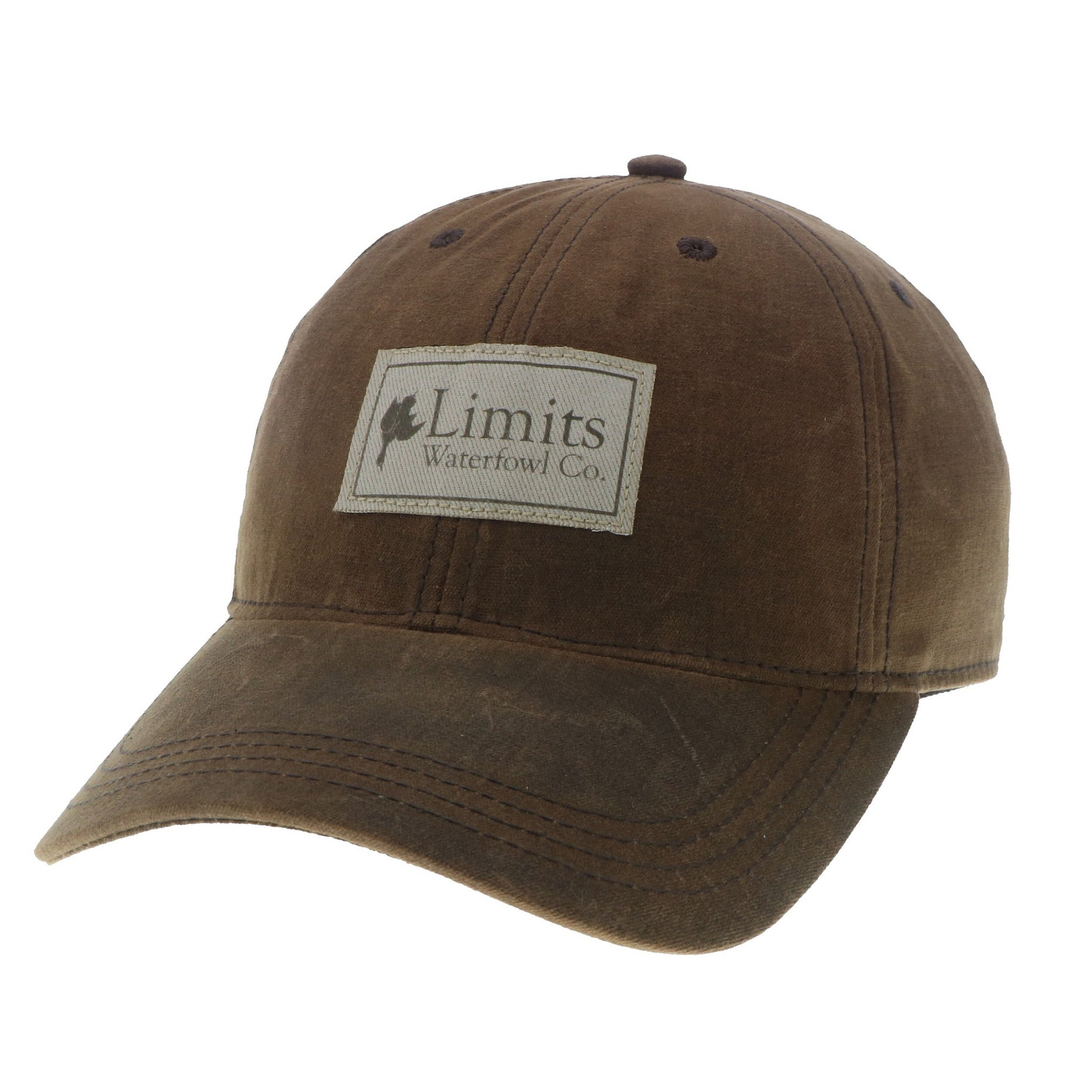 Brown Waxed Cotton-hat-Limits Waterfowl Co.-Limits Waterfowl Co. ab8ebc3aa5e